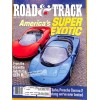 Cover Print of Road and Track, April 1990