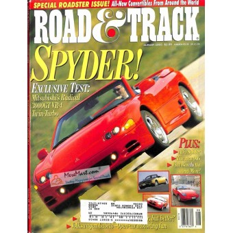 Road and Track Magazine, August 1995
