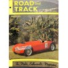 Cover Print of Road and Track, January 1952