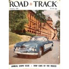 Road and Track, January 1955