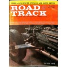 Cover Print of Road and Track, July 1961
