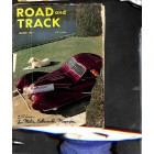 Cover Print of Road and Track Magazine, March 1952