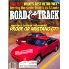 Cover Print of Road and Track, March 1988