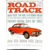 Cover Print of Road and Track, May 1962