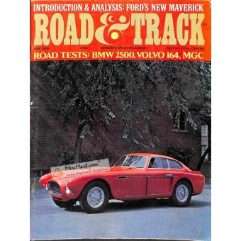 Cover Print of Road and Track Magazine, May 1969