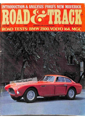Cover Print of Road and Track, May 1969