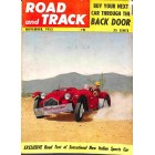 Cover Print of Road and Track, November 1953