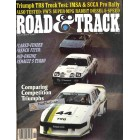 Road and Track Magazine, November 1980