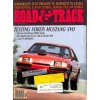 Cover Print of Road and Track, October 1983