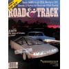 Cover Print of Road and Track, September 1981