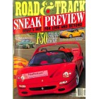 Cover Print of Road and Track, September 1995