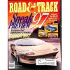Cover Print of Road and Track, September 1996