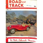 Road and Track, April 1951
