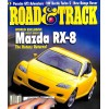 Cover Print of Road and Track, April 2002