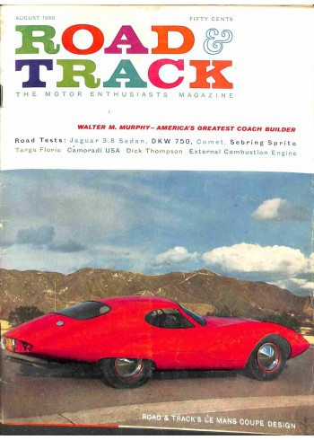 Road and Track, August 1960