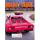 Road & Track Magazine, August 1984