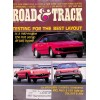 Cover Print of Road and Track, August 1985