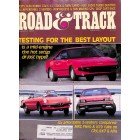 Road & Track Magazine, August 1985