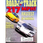 Road & Track Magazine, August 1998