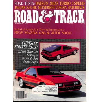 Road and Track, December 1982