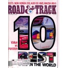 Cover Print of Road and Track, December 1987