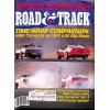Cover Print of Road and Track, February 1986