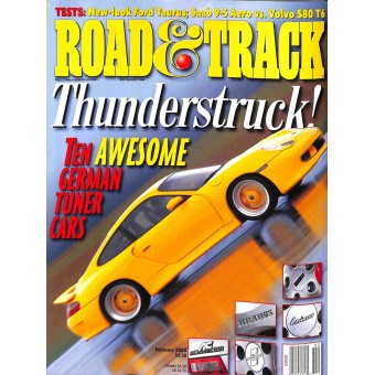Road and Track, February 2000