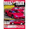 Cover Print of Road and Track, January 1990