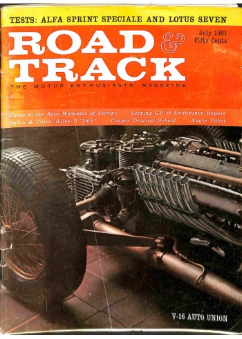 Road and Track, July 1961