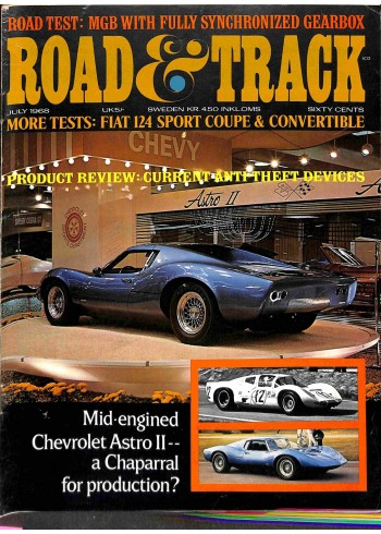Road and Track, July 1968