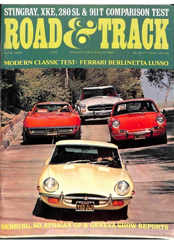 Road and Track, June 1969
