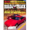 Road and Track, March 1988