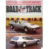 Road and Track, May 1974
