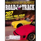 Cover Print of Road & Track Magazine, May 1987