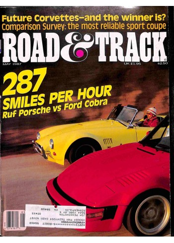 Cover Print of Road and Track, May 1987