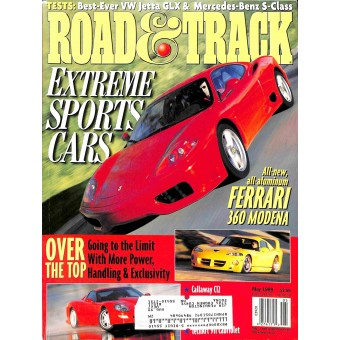 Road & Track Magazine, May 1999