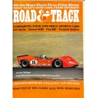 Road and Track, October 1968