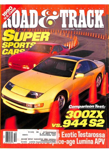 Road and Track, October 1989