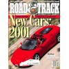 Cover Print of Road and Track, October 2000