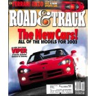 Road & Track Magazine, October 2002