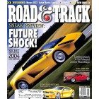 Cover Print of Road and Track, September 2002