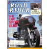 Cover Print of Road Rider, August 1989