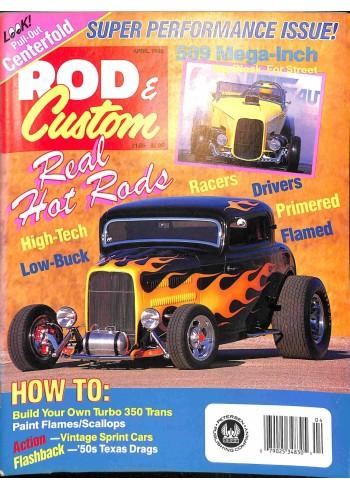 Rod and Custom, April 1990
