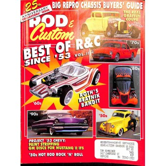 Rod and Custom, August 1991