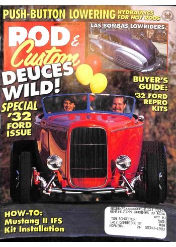 Rod and Custom, August 1992