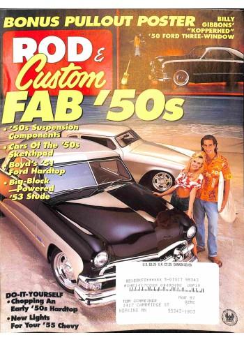 Cover Print of Rod and Custom, February 1996