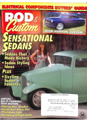 Rod and Custom, January 1996
