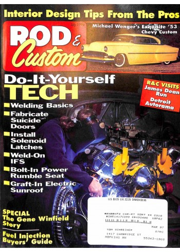 Cover Print of Rod and Custom, July 1996