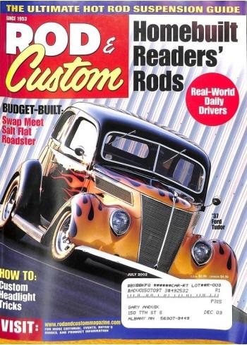 Rod and Custom, July 2002