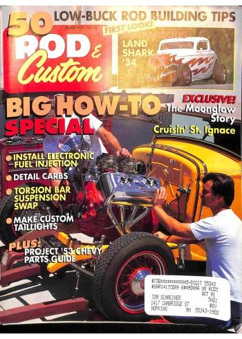 Rod and Custom, June 1991